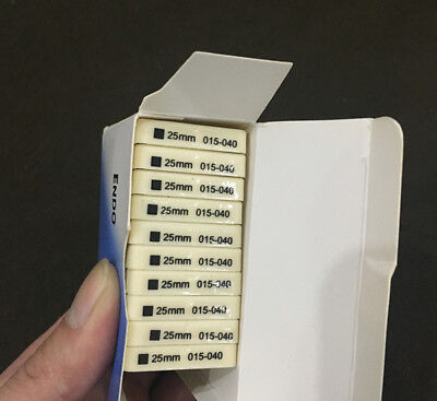 12 Packs Dental K-FILE 25mm #015-040 Stainless Steel Endo Root Canal Hand Files