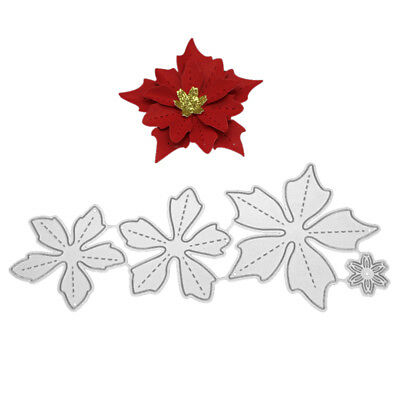 Metal Cutting Dies Flower Set Stencils Embossing for Photo Paper Crafts