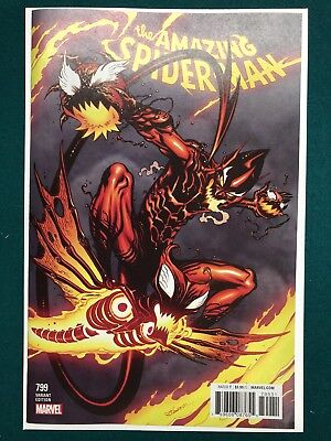 AMAZING SPIDER-MAN #799 - 1:50 McGuiness Variant Red Goblin  NM+ Marvel