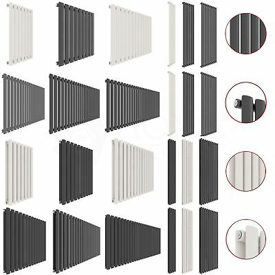 Radiator Designer Single Double Vertical Horizontal Central Heating Oval Modern