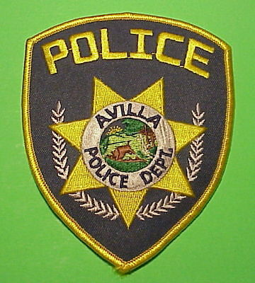 Avilla  Indiana  In    Police Patch   Free Shipping!!!