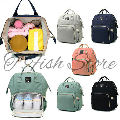 New Mommy Diaper Bag Large Capacity Baby Nappy Maternity Travel Backpack Tote