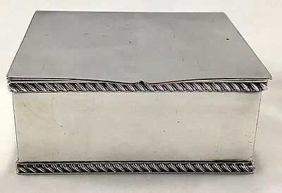 Silver Plate on Copper Box by Cooper Brothers & Sons of Sheffield - Circa 1915