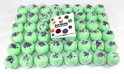 Bath Bombs full box of 48 x 65g (approximately 5cm each) By Bee Beautiful