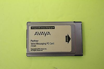 AVAYA / LUCENT Partner Voice Messaging PC Card  Small (4-Mailboxes) 700226517