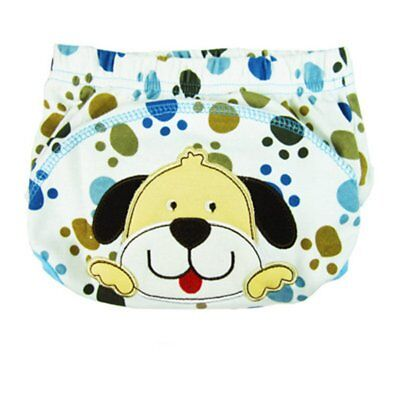 Kawaii Cartoon Embroidery Baby Diapers Reusable Nappies Cloth Diaper Washable A0