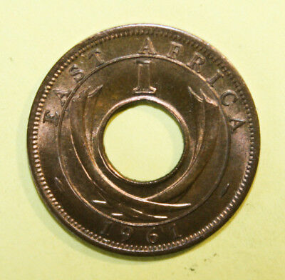 East Africa 1 Cent 1961 Brilliant Uncirculated Coin - Great Britain