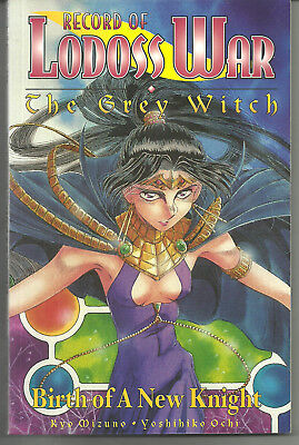 Record of Lodoss War: The Grey Witch CPM Manga