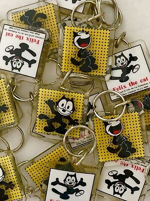 Felix The Cat Wholesale  Lot Of Vintage Keychains New Old Stock 15PCS