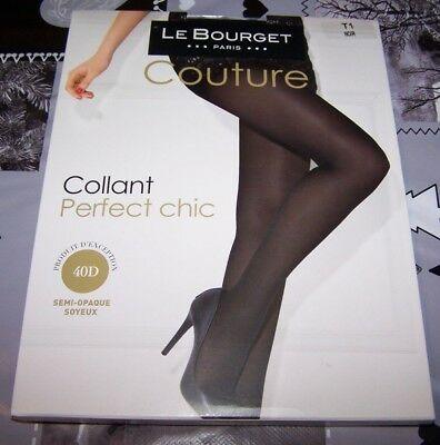 COLLANT NOIR 40D perfect chic T1 - couture - Le Bourget PARIS - EUR ... 6a71f9971c4
