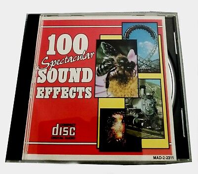 100 Spectacular Sound Effects Cd