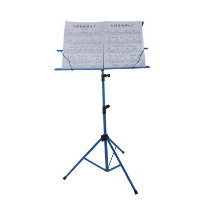 Lightweight Sheet Music Metal Stand Holder Folding Foldable with Waterproof M5N4