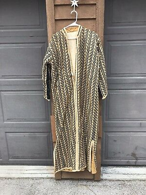 Vintage Hand Tailored Highly Detailed African or African-Style Ceremonial Robe