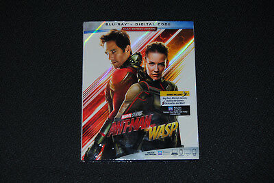 ANT-MAN AND THE WASP Blu-ray + Digital - Brand New