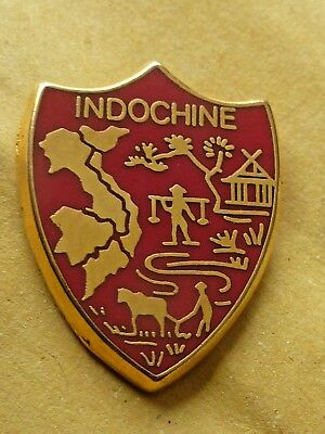 Pin's Badge  Militaire Indochine