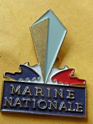 Pin's Badge  Militaire  Marine Nationale