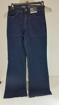 Womens Mossimo High Rise Wide Leg Jeans SZ 00,0,2,4,6,8,10,12,14