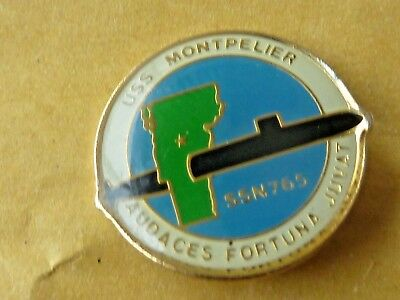 Pin's Badge  Militaire  Sous Marin Uss Montpelier