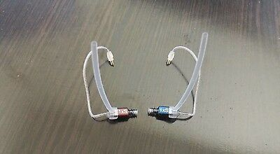 1 Pair (1 Left + 1 Right) Phonak Unitron Hearing Aid Receivers RIC - Size 1xS
