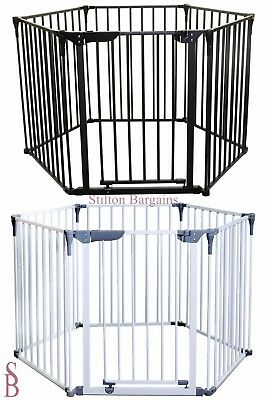 Royale Converta 3-In-1 Play-Pen Gate - BNIP - Safety Room Divider Fire Guard Pet