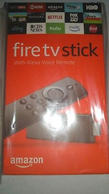 New Fire TV Stick 2nd gen with Alexa Voice Remote streaming media player