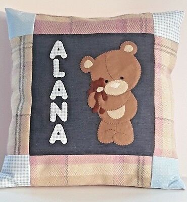 Teddy Bear Nursery Cushion, Teddy Bear Nursery Decor, Teddy Bear Cushions