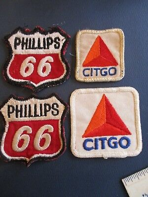 Phillips 66 and Citgo Patches