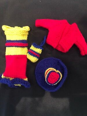Hand knitted Barbie clothing #31