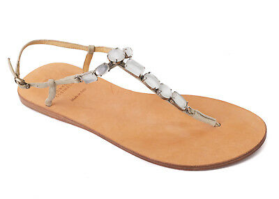 ab731d4715a Brunello Cucinelli Womens Luxurious Stone Beaded Thong Sandals Size 37 7 RTL  896