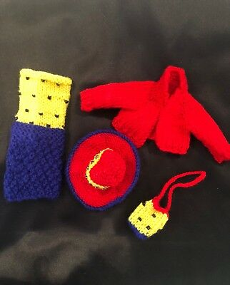 Hand knitted Barbie clothing #35