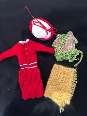 Hand knitted Barbie clothing #38