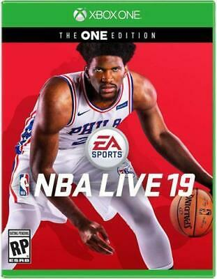 NBA LIVE 19 The ONE Edition (Microsoft Xbox One) Brand New Sealed