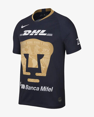 47af95e43 Nike Pumas UNAM Official 2018 2019 Third Soccer Football Jersey