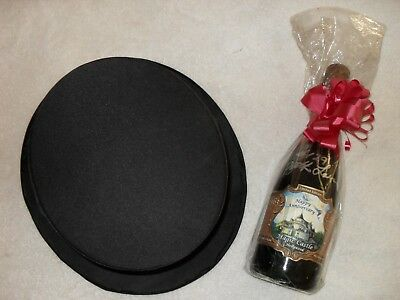 The Magic Castle Limited Edition Anniversary Wine Bottle w/collapsible Top Hat