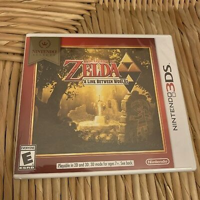 The Legend of Zelda: A Link Between Worlds - Nintendo 3DS - Brand New and Sealed