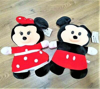 Disney Mickey Minnie Mouse Cute Carton Soft Toy Plush Jumbo Size 50cm 2pcs pack