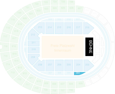 2 Tickets LUKE MOCKRIDGE - Köln Lanxess-Arena 25.05.2019 - Karten Premium Seats