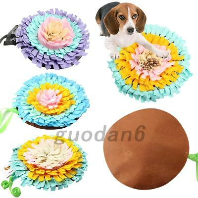 Green House Dog Snuffle Mat Pet Puzzle Toy Sniffing Training Pad Washable 17.7''