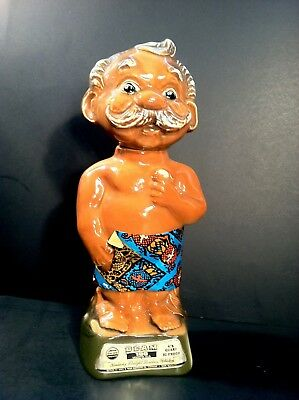 Vintage 1970's United Airlines 10th Hawaiian Open Golf The Menehune Man