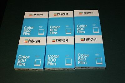 Polaroid Originals 4670 Color Glossy Instant Film for 600 Cameras 6 pack