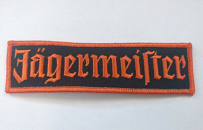 Jagermeister Embroidered Patch