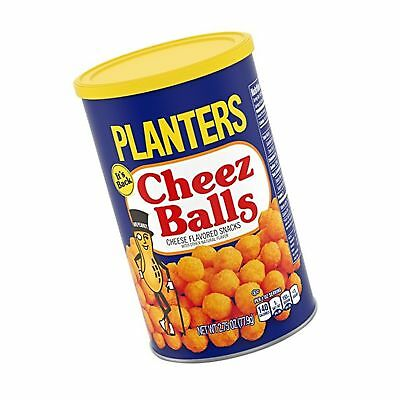 Planters Cheez Balls 2018 Limited Release - 2.75oz canister. Cheese Balls Snack