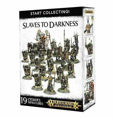 SLAVES TO DARKNESS Chaos Start Collecting! Warhammer Sigmar Collecting NEW NIB