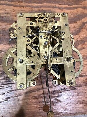 Unsigned Mantle Clock Movement American? Gilbert? Sessions? Seth Thomas?