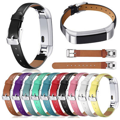 For Fitbit Alta / Alta HR Genuine Leather Replacement Wristband Watch Band Strap