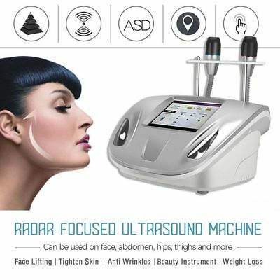 2018 HIFU Radar Line Carving Skin Lifting V Face Beauty Machine Wrinkle US