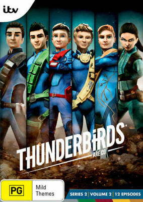 THUNDERBIRDS Are Go! Series 2 Volume 2 DVD TV SERIES BRAND NEW RELEASE 2DISC R4