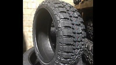 4 New 35x12 50r22 Fury Off Road Country Hunter R T Tires Mud A T 35