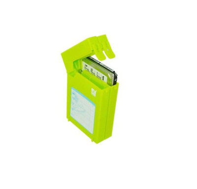 Mukii ZIO-P210-GR (GrEEN) ZIPO 2.5in HDD Stackable Protective Case (Case Only)