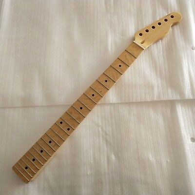 Maple Electric Guitar Neck 22 Frets DIY For TL Tele Telecaster Truss Rod